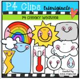 P4 CHEEKY Weather (P4 Clips Trioriginals Clip Art)