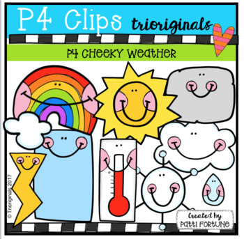P4 CHEEKY Weather (P4 Clips Trioriginals Clip Art)