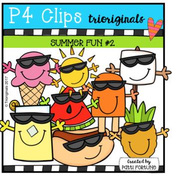 (50% OFF) P4 COOL SHADES Summer Fun (P4 Clips Trioriginals Clip Art)