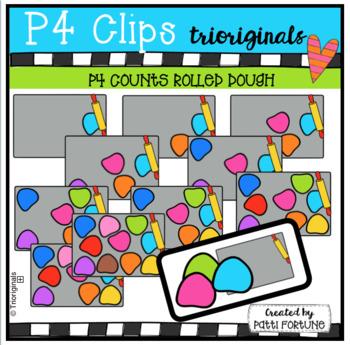 P4 COUNTS Dough (P4 Clips Trioriginals Clip Art)