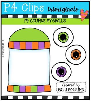 P4 COUNTS Eyeballs (P4 Clips Trioriginals Digital Clip Art)