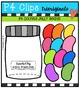 P4 COUNTS Jelly Beans (P4 Clips Trioriginals Digital Clip Art)