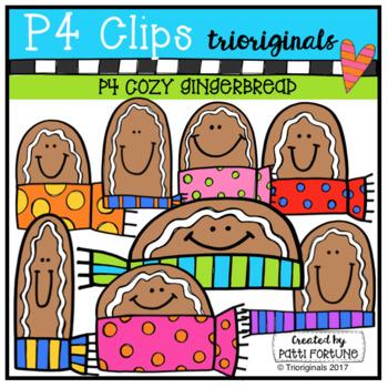 P4 COZY Gingerbread (P4 Clips Trioriginals)
