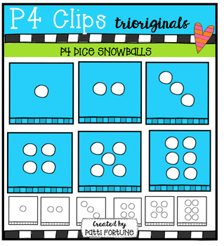 P4 DICE Snowballs/Mittens (P4 Clips Trioriginals Digital C