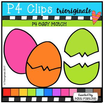 P4 EGGY Match (P4 Clips Trioriginals Clip Art)