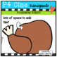 P4 RAINBOW Turkey (P4 Clips Trioriginals Clip Art)