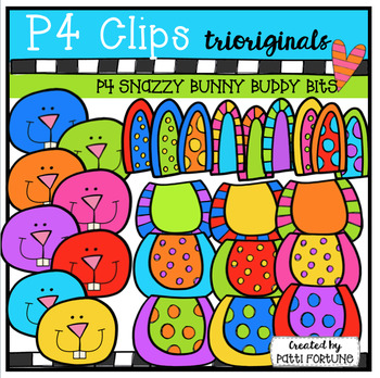 P4 SNAZZY Build a Bunny Buddy (P4 Clips Trioriginals)