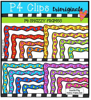 (50% OFF) P4 SNAZZY Frames (P4 Clips Trioriginals Digital