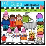 P4 STORY TIME (A Snowman Story ACHOO) P4 Clips Trioriginals