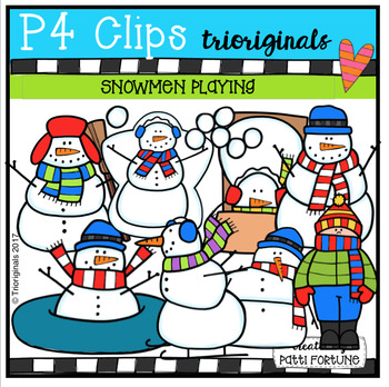 P4 STORY TIME (Snowmen Playing at Night) P4 Clips Trioriginals