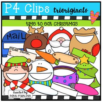 P4 BIGGY MOUTH Time To Eat Christmas (P4 Clips Trioriginals)