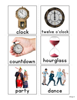 Vocabulary Flash Cards with Pictures (pack 2)