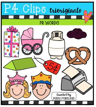 PR Words (P4 Clips Trioriginals Digital Clip Art)