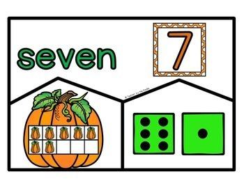 PUMPKIN Math Puzzles, Posters, Playdough Mats, Matching, Sequencing