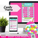 Parent Communication Google Slides Template   Smart Class App Website   Candy