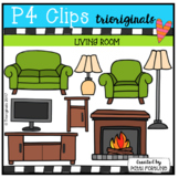 Parts of the House LIVING ROOM (P4 Clips TrioriginalS Clips)
