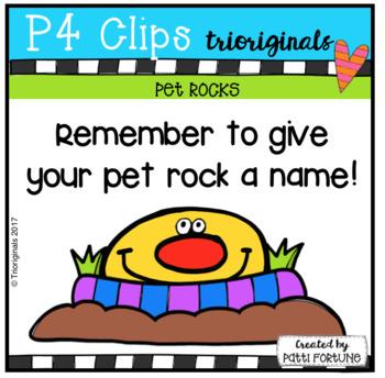 Pet Rocks (P4 Clips Trioriginals Clip Art)