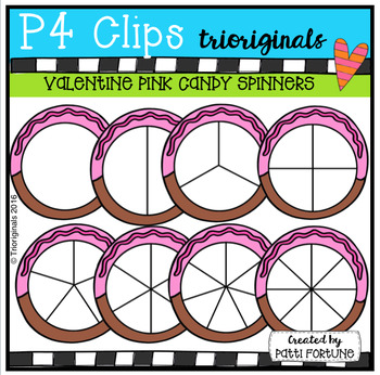 Pink Candy Spinners (P4 Clips Trioriginals)