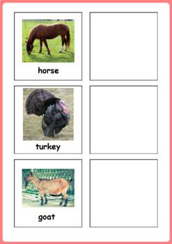 Plurals - Farm Animals & Their Babies, Plural Nouns