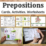 Prepositions Activities and Worksheets for Autism and ESL
