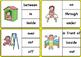 Prepositions Clip Cards