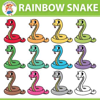 Rainbow Snake Clipart