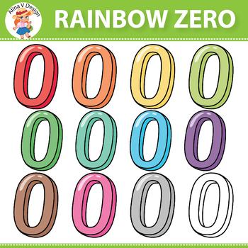 Rainbow Zero Clipart