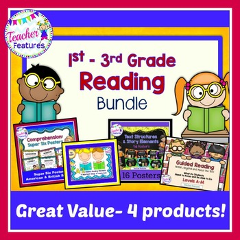 Reading Comprehension & Strategies Bundle