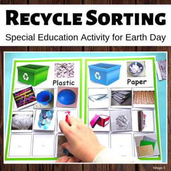 Recycling Activity for Earth Day