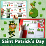 Saint Patrick`s Day Activities for Special Education