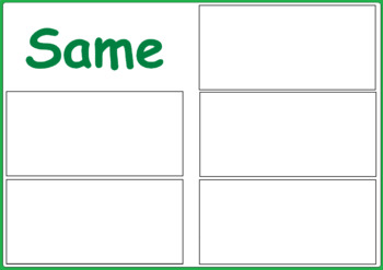 St Patrick`s Day - Same or Different Activity for Special Education