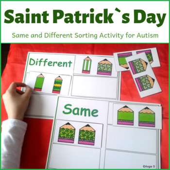 St Patrick`s Day Activity for Special Education