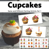 Same or Different - Cupcakes