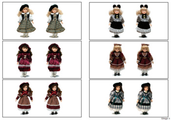 Same or Different -Dolls, Autism Resource