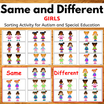 Same or Different -Girls