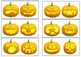 Same or Different - Halloween Sorting Activity, Jack-o`-lantern