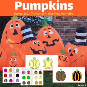 Same or Different- Pumpkins