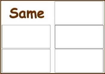 Halloween Activity - Same or Different -  Owls, Special Ed Resource