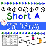 Short A Word Cards and CVC Student Book