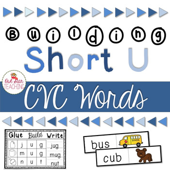 Short U Word Cards and CVC Student Book