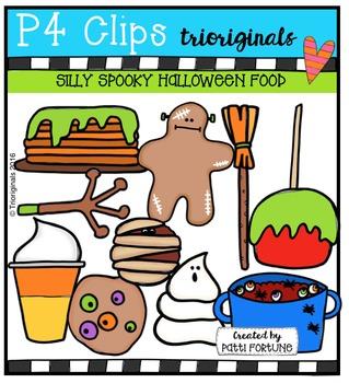 Silly Spooky Halloween Food (P4 Clips Trioriginals Digital Clip Art)