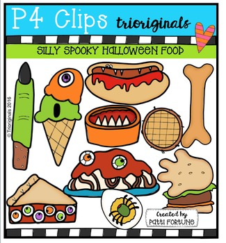 Silly Spooky Halloween Food (P4 Clips Trioriginals Digital