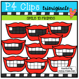 Smile 10 Frames (P4 Clips Trioriginals Clip Art)