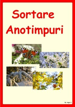 Sortare Anotimpuri- Seasons Sorting Activity (Romanian)