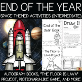 Space Theme Memory Books and End of the Year Activities {Intermediate}