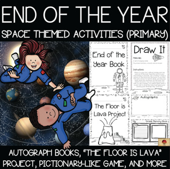 Space Theme Memory Books and End of the Year Activities {Primary}