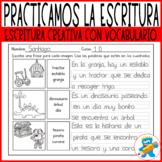 Spanish Creative Writing Worksheets. Escritura Creativa Es