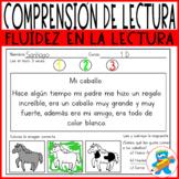 Spanish Reading Comprehension Worksheets. Comprensión lect