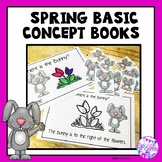 Spring Basic Concept Books (St. Patrick's Day, Easter, and