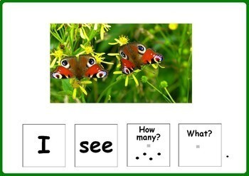 Spring Activity for Speech Therapy - Building Sentences